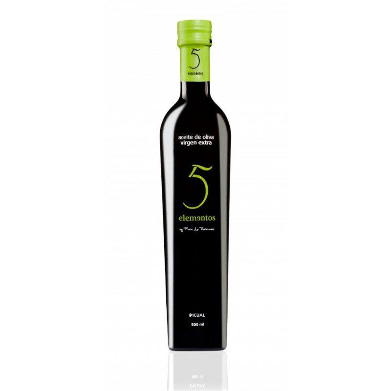 Aceite Picual '5 Elementos' 0,5L 2015 F. la Pontezuela